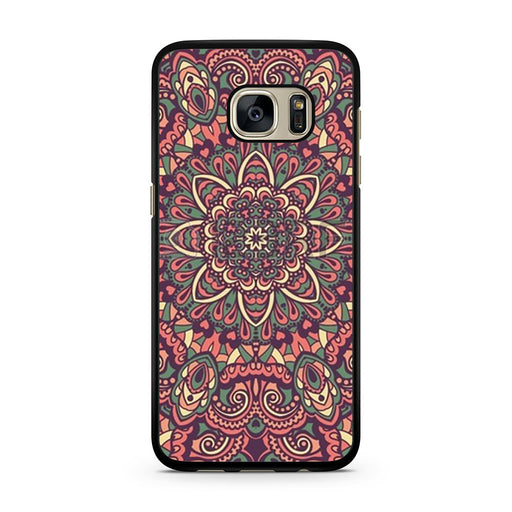 Seamless Mandala Flower Indian Bali Tribal Samsung Galaxy S7 case