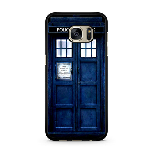Tardis Doctor Who Samsung Galaxy S7 case