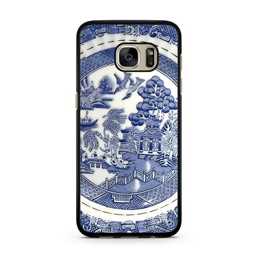 Blue Willow China Pattern Samsung Galaxy S7 case