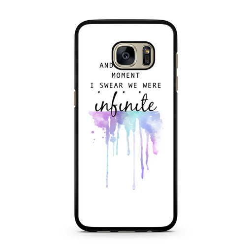 The Perks of Being a Wallflower Quote Samsung Galaxy S7 case