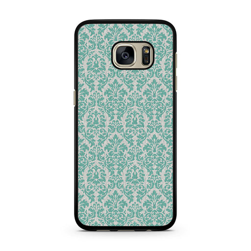 Teal Damask Samsung Galaxy S7 case