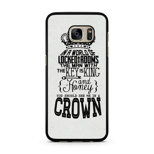 You Should See Me In A Crown Moriarty Quote Samsung Galaxy S7 case