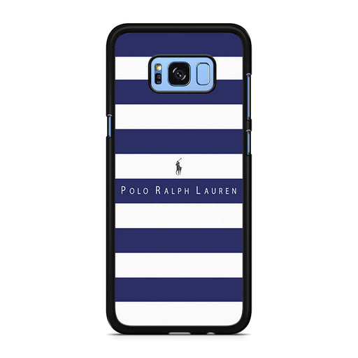 Polo Ralph Lauren Blue White Stripes Samsung Galaxy S8/S8+ case