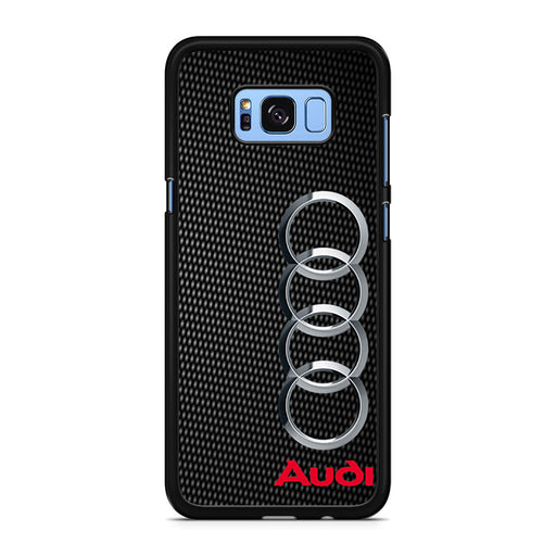 Audi Carbon Fiber Look Samsung Galaxy S8/S8+ case