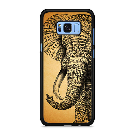 Zentangle Elephant Samsung Galaxy S8/S8+ case