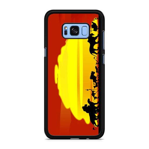 The Lion King Sunset Hakuna Matata Samsung Galaxy S8/S8+ case