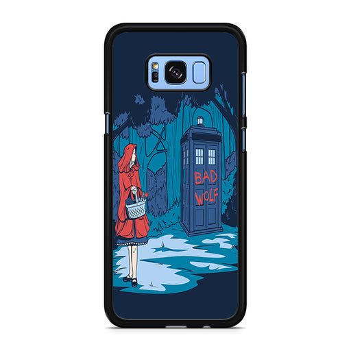 Tardis Dr Who Little Red Riding Hood Samsung Galaxy S8/S8+ case