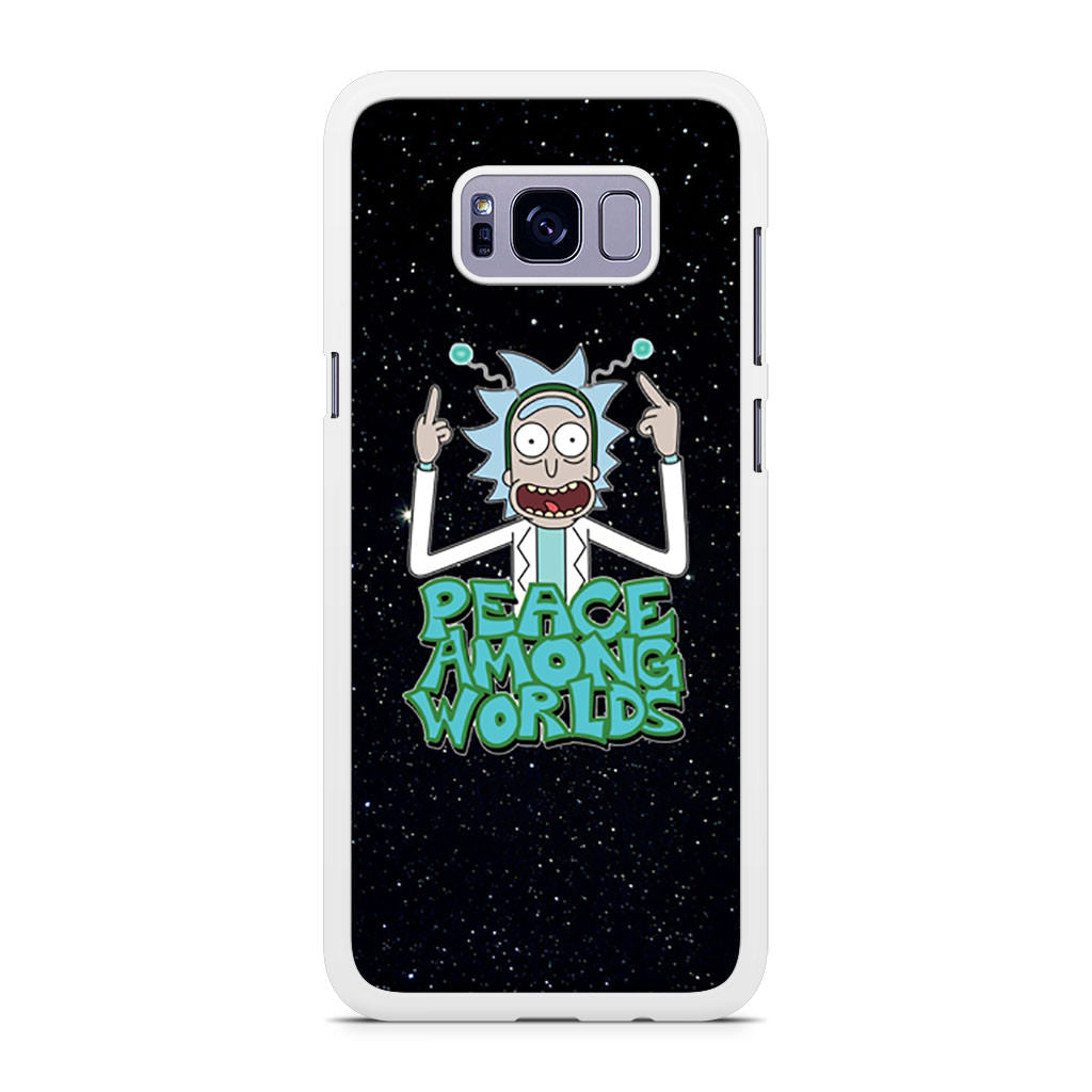 Rick Sanchez Morty Peace Among Worlds Samsung Galaxy S8/S8+ case