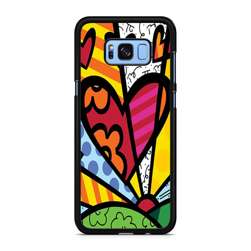 Romero Britto Pop Samsung Galaxy S8/S8+ case