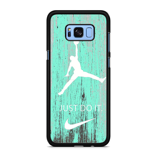 Nike Jordan Mint Wood Samsung Galaxy S8/S8+ case