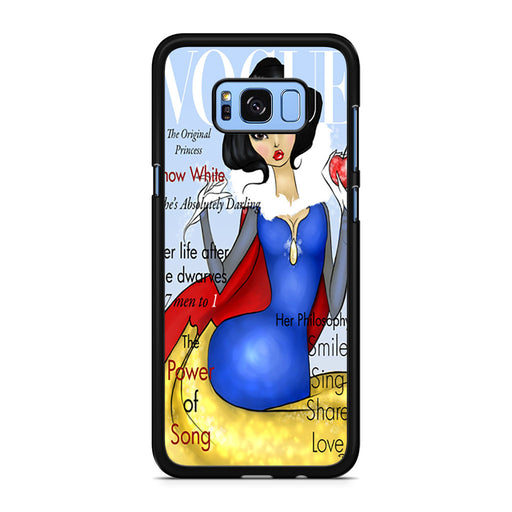 Vogue Snow White Samsung Galaxy S8/S8+ case