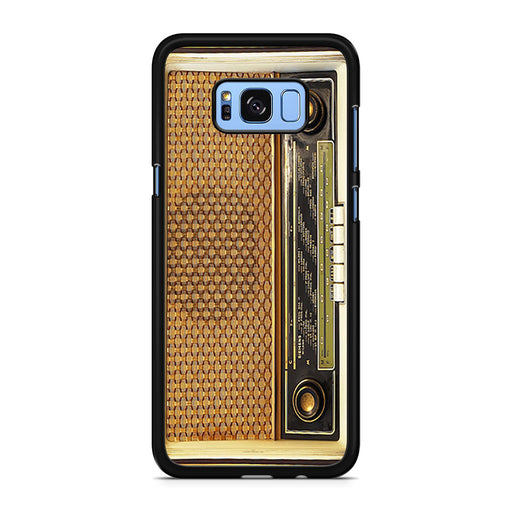 Retro Vintage Old Radio Samsung Galaxy S8/S8+ case