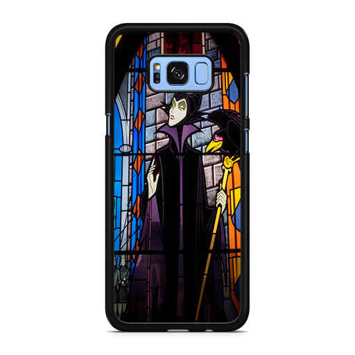 Maleficent Stained Glass Samsung Galaxy S8/S8+ case