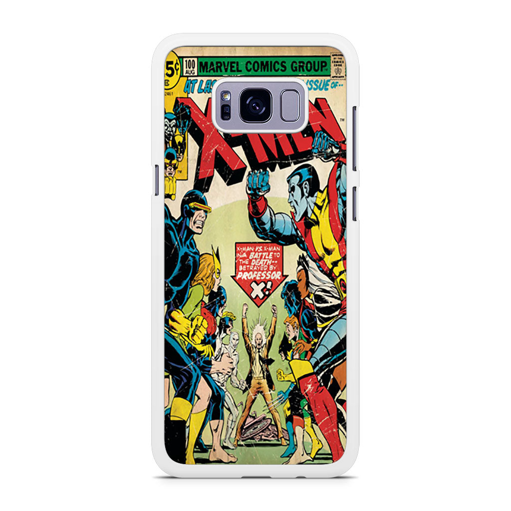 X-Men Retro Comic Book Samsung Galaxy S8/S8+ case