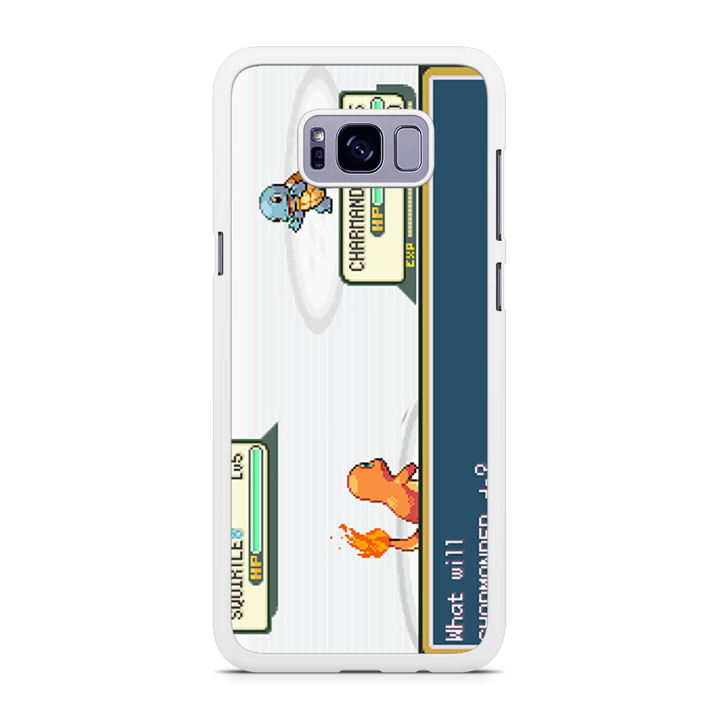 Pokemon (charmander pixels) Galaxy S7 Case