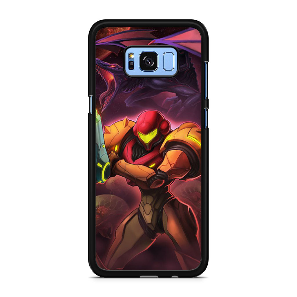 Metroid Other M Samsung Galaxy S8/S8+ case