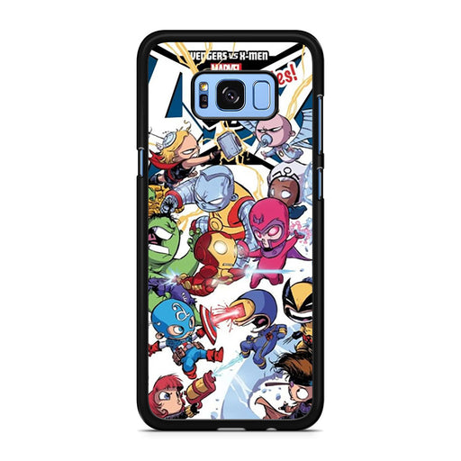 Young Marvel Avengers X-Men Babies Samsung Galaxy S8/S8+ case