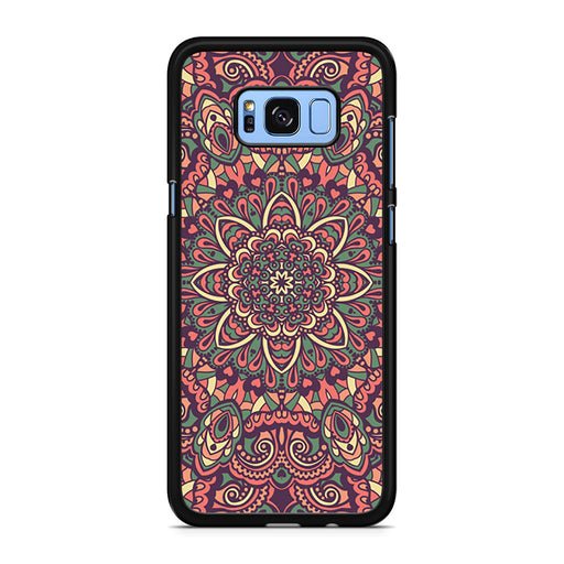 Seamless Mandala Flower Indian Bali Tribal Samsung Galaxy S8/S8+ case