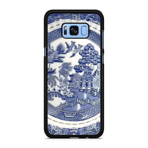 Blue Willow China Pattern Samsung Galaxy S8/S8+ case