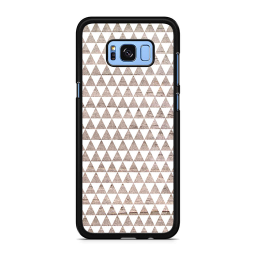 Wooden Triangle Geometric Pattern Samsung Galaxy S8/S8+ case