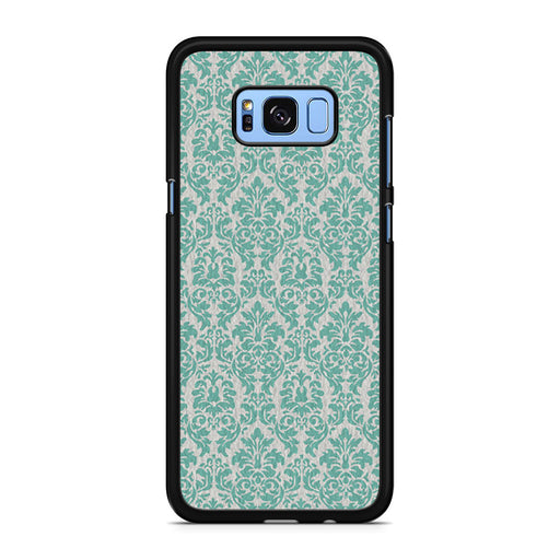 Teal Damask Samsung Galaxy S8/S8+ case