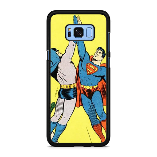 World's Finest Superman Batman Super High Five Samsung Galaxy S8/S8+ case