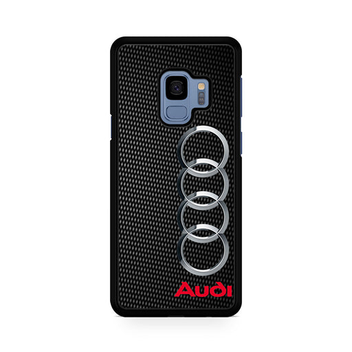 Audi Carbon Fiber Look Samsung Galaxy S9/S9+ case