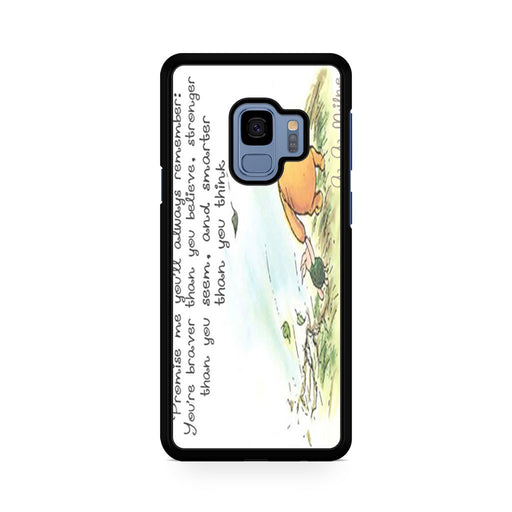 Winnie the Pooh Quote Samsung Galaxy S9/S9+ case