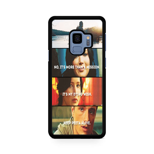 The Hunger Games Quotes Mockingjay Samsung Galaxy S9/S9+ case