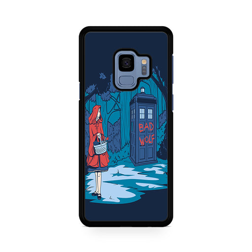 Tardis Dr Who Little Red Riding Hood Samsung Galaxy S9/S9+ case