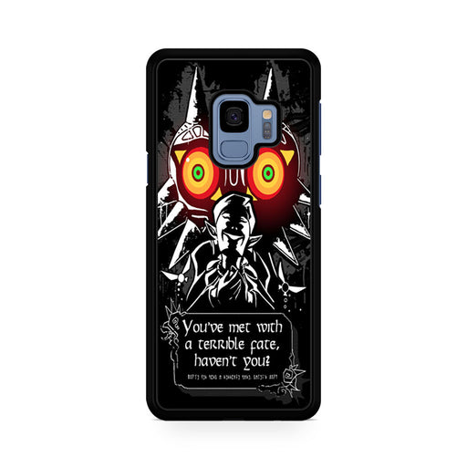 Legend Of Zelda Majoras Mask Quote Samsung Galaxy S9/S9+ case