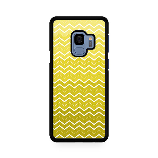 Yellow Chevron Pattern Samsung Galaxy S9/S9+ case