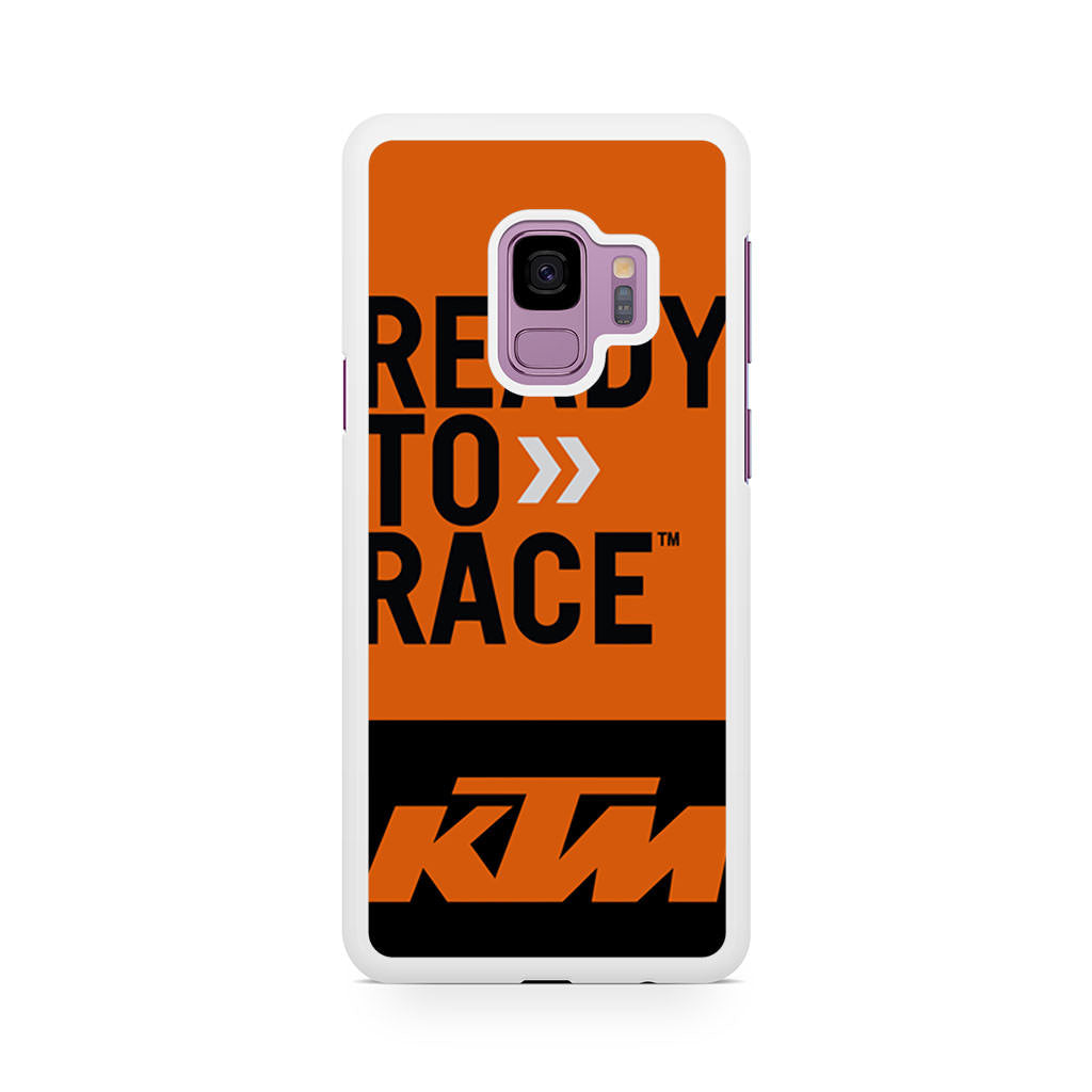 ktm ready to race bike dirt mx samsung galaxy s9 s9 case case persona