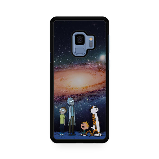 Rick Morty Calvin Hobbes Stargazing Samsung Galaxy S9/S9+ case