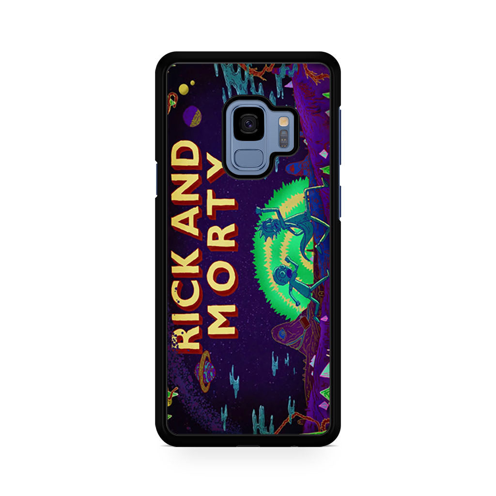 finest selection cf1f9 e408c Rick and Morty Samsung Galaxy S9/S9+ case