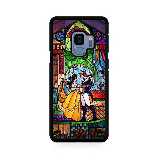 Beauty and The Beast Stained Glass Samsung Galaxy S9/S9+ case