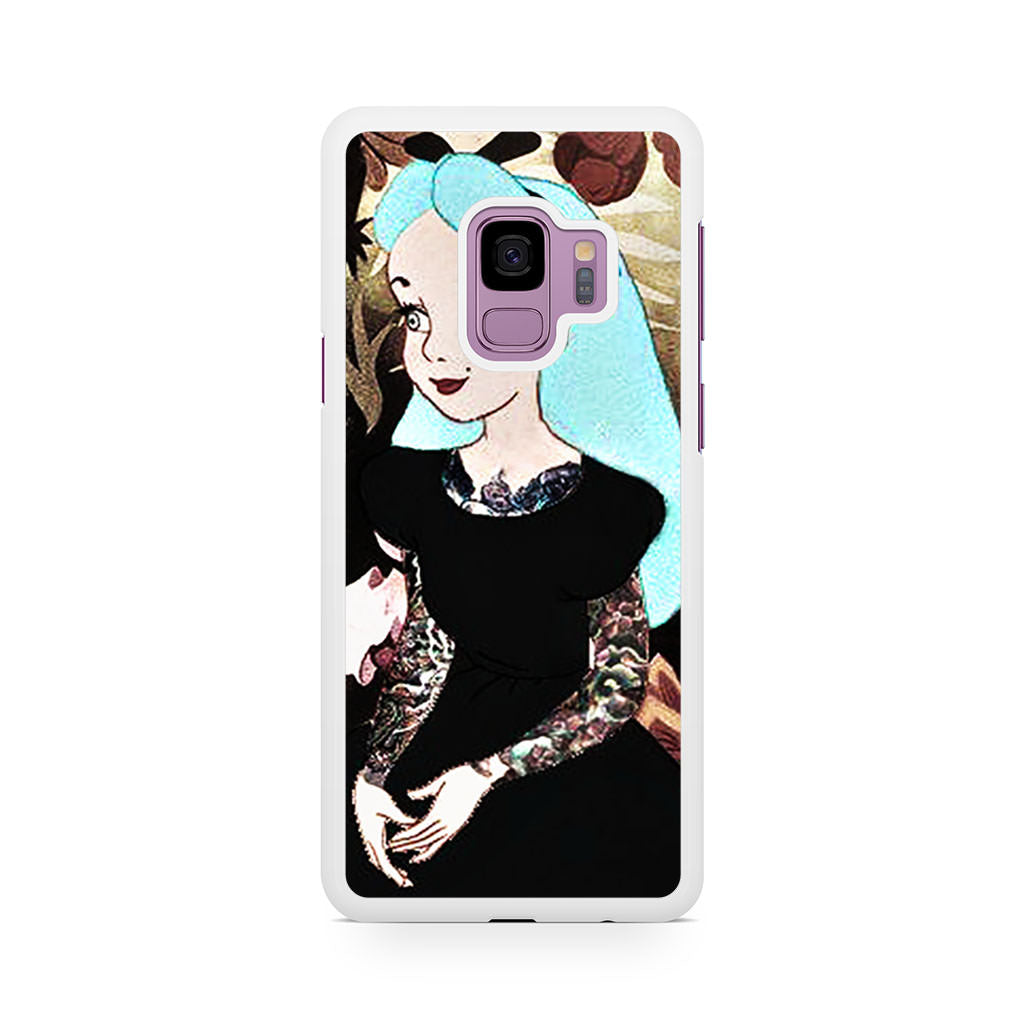 Punk Alice Samsung Galaxy S9/S9+ case