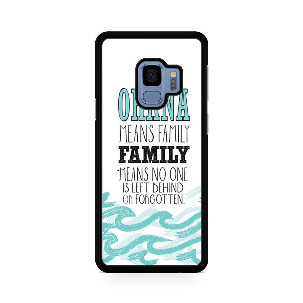 Ohana Means Family Lilo And Stitch Disney Samsung Galaxy S9/S9+ case