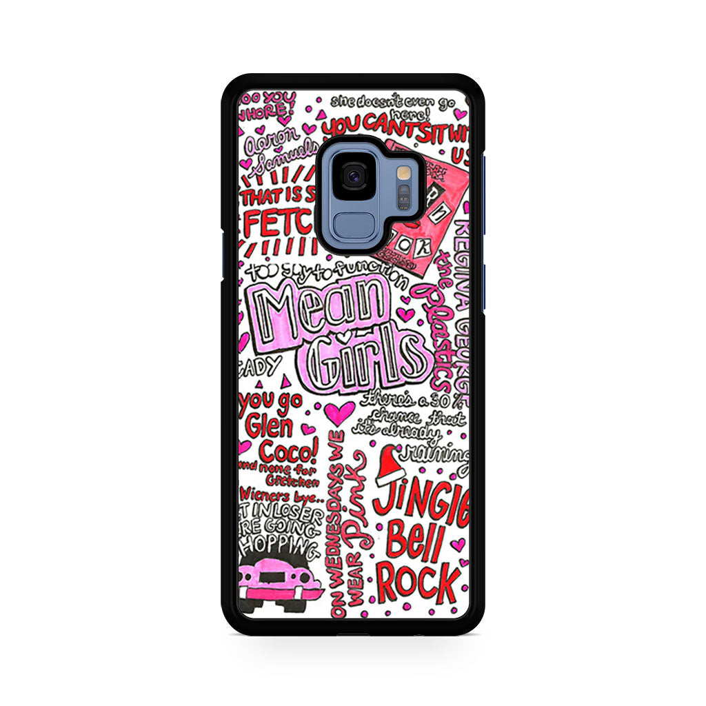 Mean Girls Lyrics Samsung Galaxy S9/S9+ case