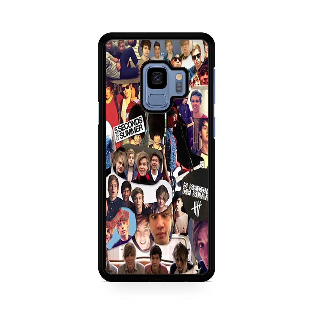 Five Seconds Of Summer Samsung Galaxy S9/S9+ case