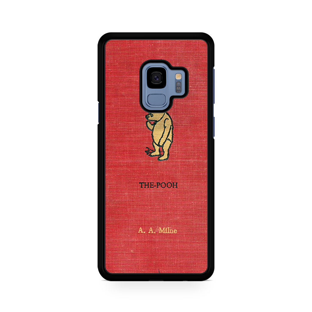 Winnie The Pooh Cover Book Samsung Galaxy S9/S9+ case