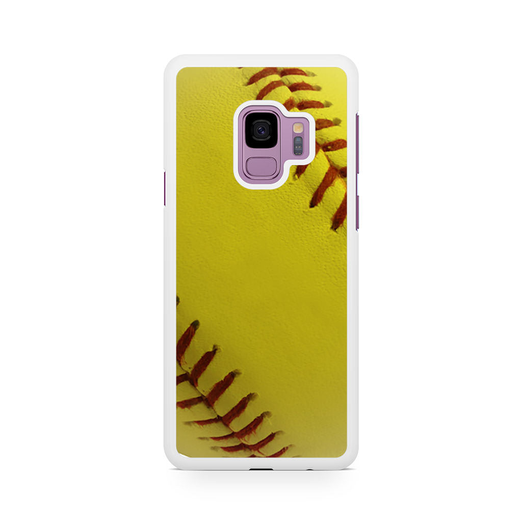 Ball Baseball Yelow Samsung Galaxy S9/S9+ case