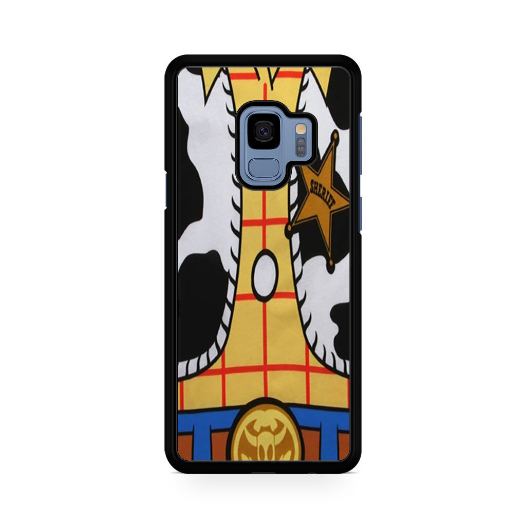 Toy Story Costume Woody Samsung Galaxy S9/S9+ case