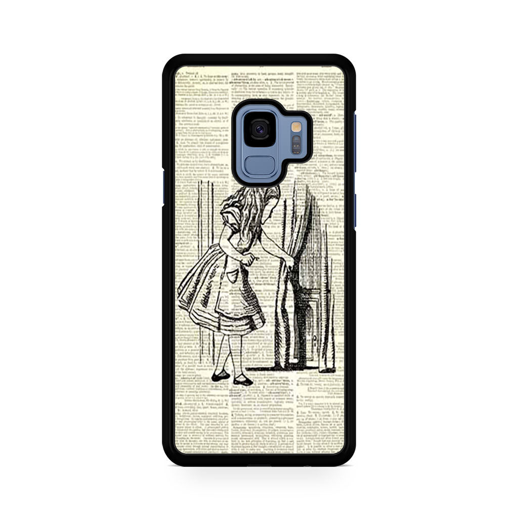 Alice in Wonderful Dictionary Samsung Galaxy S9/S9+ case