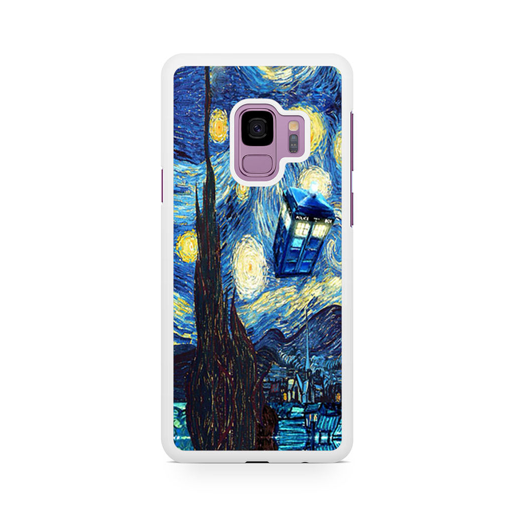 Dr Who Starry Night Tardis Samsung Galaxy S9/S9+ case