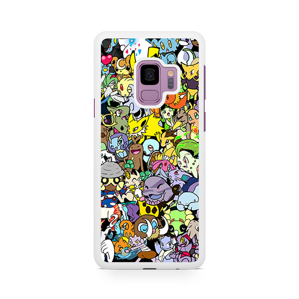 Adorable Pokemon Character Samsung Galaxy S9/S9+ case