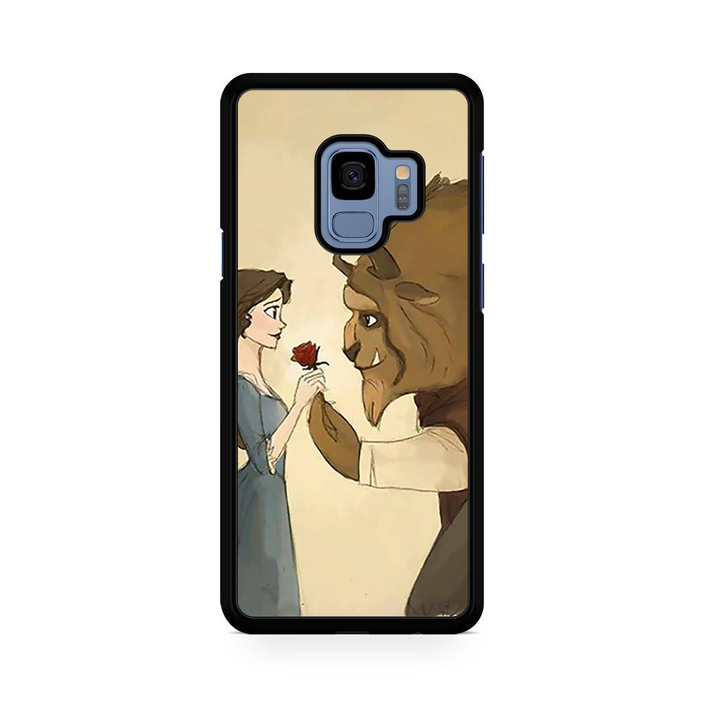 Love Beauty and The Beast Samsung Galaxy S9/S9+ case