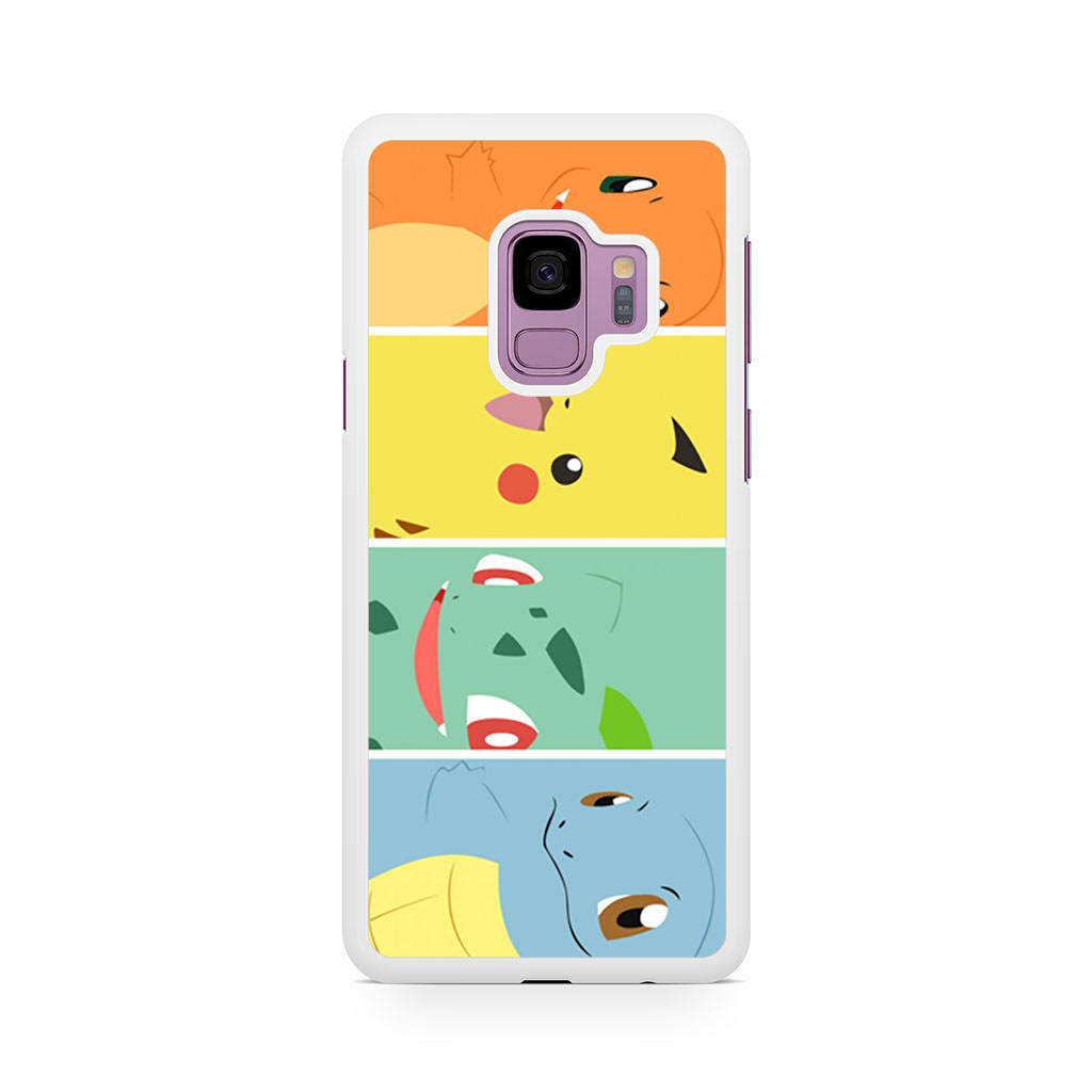 Pokemon Charmander Pikachu Bulbasaur Squirtle Samsung Galaxy S9/S9+ case