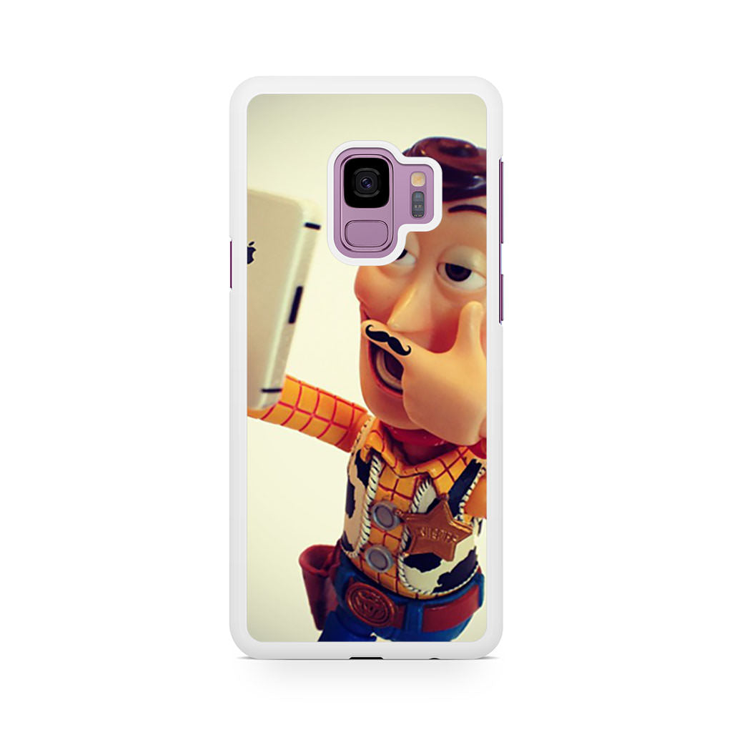 Toy Story Selfie Woody Mustache Samsung Galaxy S9/S9+ case