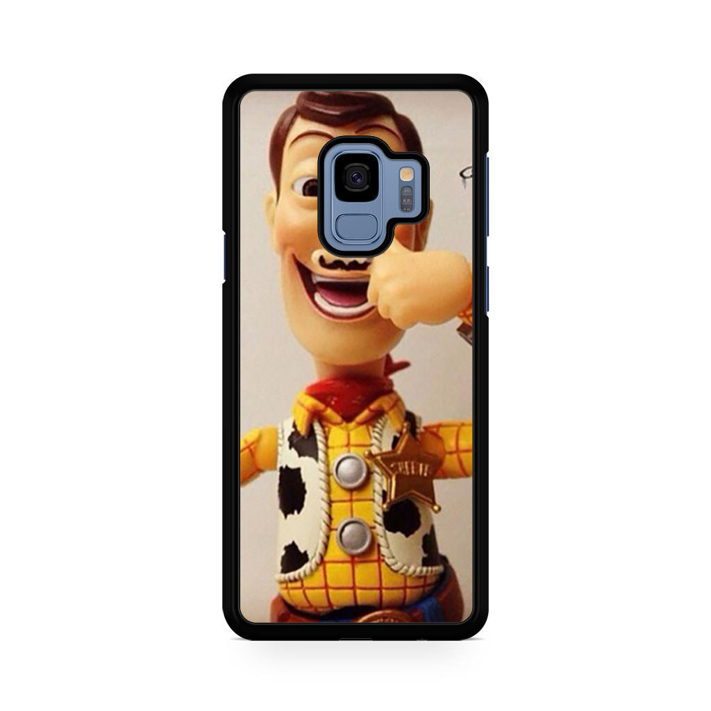 Toy Story Woody Mustache Samsung Galaxy S9/S9+ case